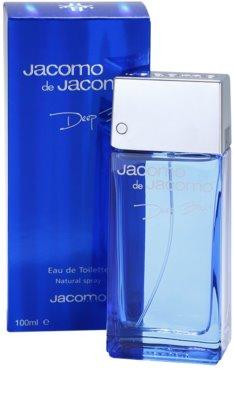 Jacomo Jacomo de Jacomo Deep Blue Eau de Toilette pentru barbati 1