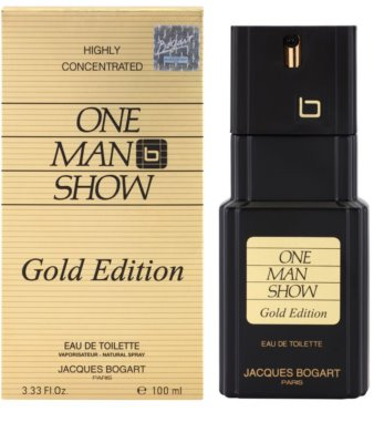 Jacques Bogart One Man Show Gold Edition eau de toilette férfiaknak 1