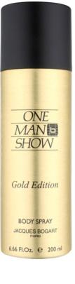 Jacques Bogart One Man Show Gold Edition Körperspray für Herren