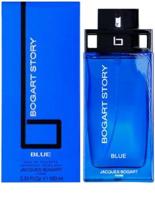 Jacques Bogart Bogart Story Blue eau de toilette férfiaknak