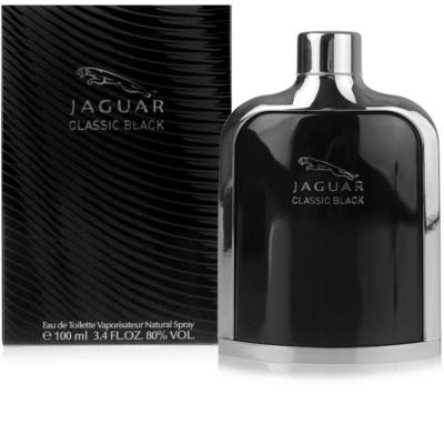 Jaguar Classic Black Eau de Toilette pentru barbati
