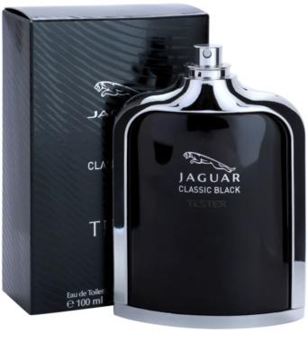 Jaguar Classic Black toaletní voda tester pro muže 1