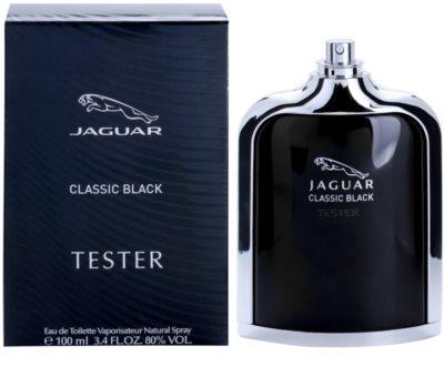 Jaguar Classic Black toaletní voda tester pro muže 2