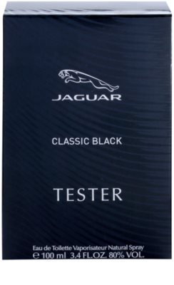 Jaguar Classic Black toaletní voda tester pro muže 3