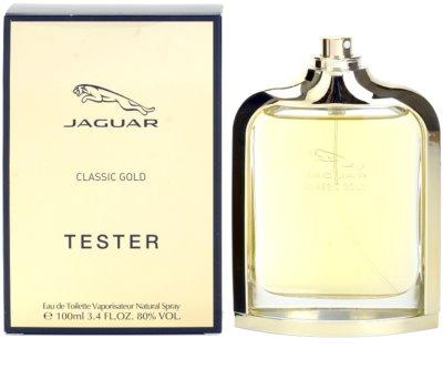 Jaguar Classic Gold toaletní voda tester pro muže 1