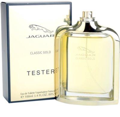 Jaguar Classic Gold eau de toilette teszter férfiaknak 2
