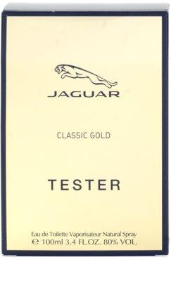 Jaguar Classic Gold eau de toilette teszter férfiaknak 3