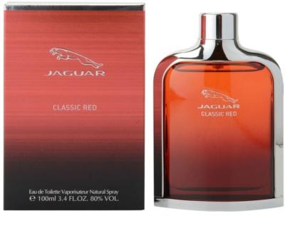 Jaguar Classic Red Eau de Toilette pentru barbati