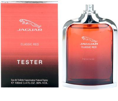Jaguar Classic Red toaletní voda tester pro muže 1