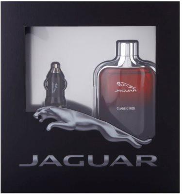 Jaguar Classic Red coffret presente