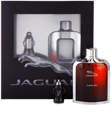 Jaguar Classic Red dárková sada 2