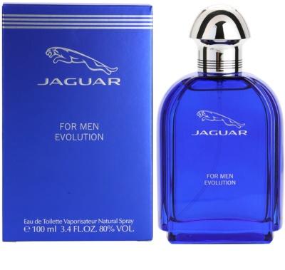 Jaguar Evolution eau de toilette férfiaknak