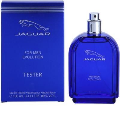 Jaguar Evolution toaletní voda tester pro muže 1
