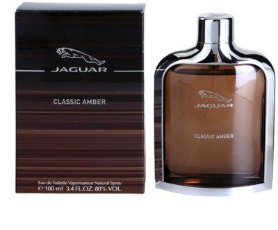 Jaguar Classic Amber eau de toilette férfiaknak