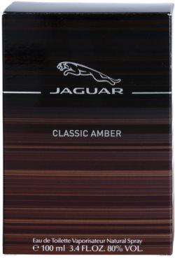 Jaguar Classic Amber eau de toilette férfiaknak 4
