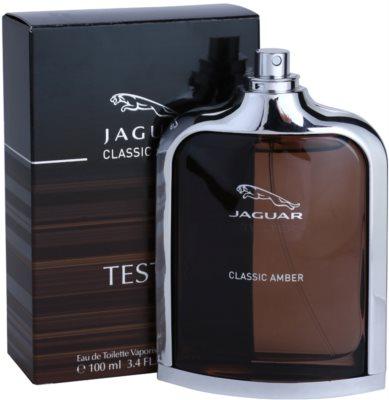 Jaguar Classic Amber туалетна вода тестер для чоловіків 1