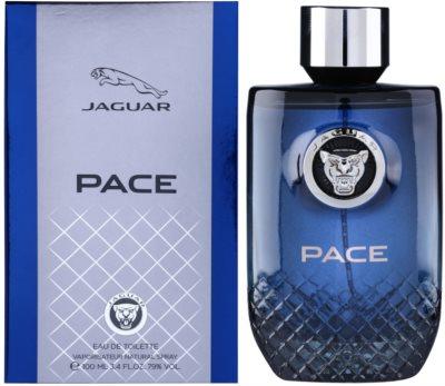 Jaguar Pace eau de toilette férfiaknak