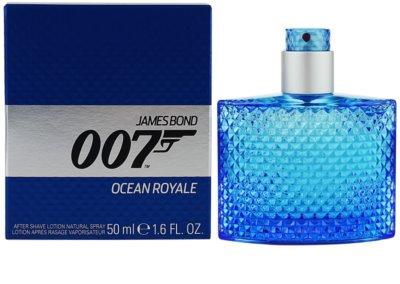 James Bond 007 Ocean Royale loción after shave para hombre
