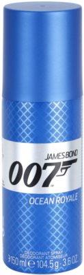 James Bond 007 Ocean Royale deodorant Spray para homens