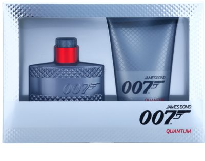 James Bond 007 Quantum coffrets presente