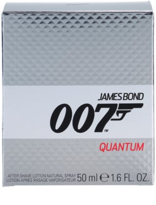 James Bond 007 Quantum loción after shave para hombre 4
