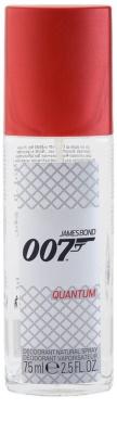 James Bond 007 Quantum Deo mit Zerstäuber für Herren