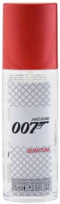 James Bond 007 Quantum deodorant s rozprašovačem pro muže