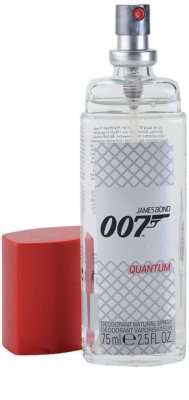 James Bond 007 Quantum deodorant s rozprašovačem pro muže 1