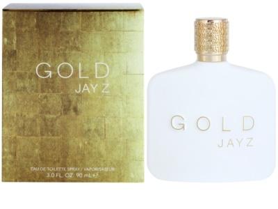 Jay Z Gold Eau de Toilette para homens