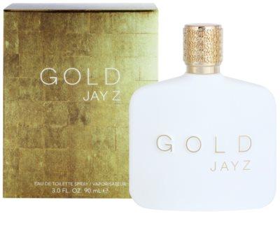 Jay Z Gold Eau de Toilette pentru barbati 2