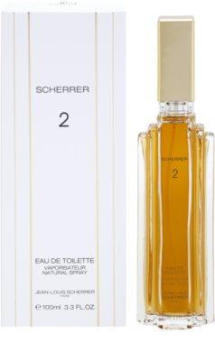 Jean-Louis Scherrer  Scherrer 2 eau de toilette para mujer