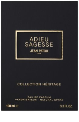 Jean Patou Adieu Sagesse Eau de Parfum para mulheres 4
