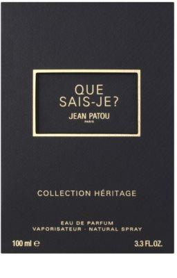 Jean Patou Que Sais-Je Eau de Toilette para mulheres 4