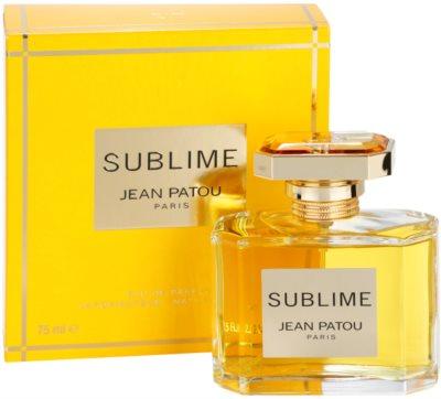 Jean Patou Sublime Eau de Parfum für Damen 1