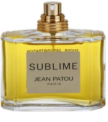 Jean Patou Sublime parfémovaná voda tester pro ženy