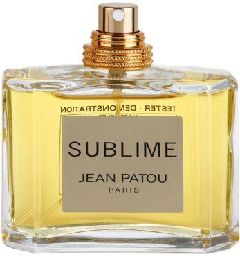 Jean Patou Sublime eau de toilette teszter nőknek