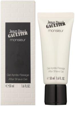 Jean Paul Gaultier Monsieur gel de barbear para homens