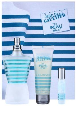 Jean Paul Gaultier Le Beau Male coffrets presente