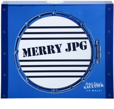 Jean Paul Gaultier Le Male Merry JPG coffret presente 2