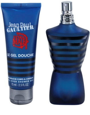 Jean Paul Gaultier Ultra Male Intense lote de regalo 1