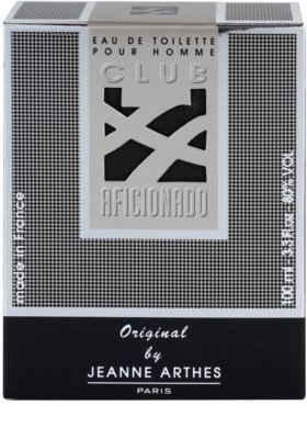 Jeanne Arthes Club Aficionado for Men toaletna voda za moške 4