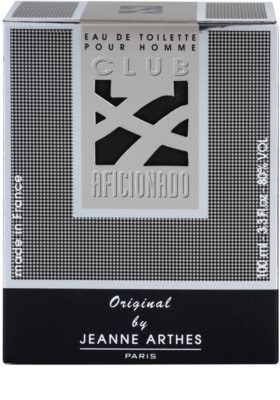 Jeanne Arthes Club Aficionado for Men Eau de Toilette pentru barbati 4