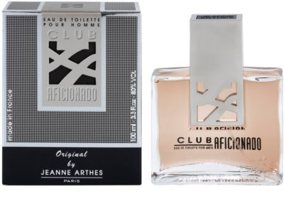 Jeanne Arthes Club Aficionado for Men eau de toilette férfiaknak