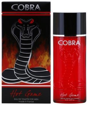 Jeanne Arthes Cobra Hot Game Eau de Toilette para homens