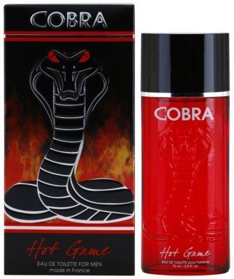 Jeanne Arthes Cobra Hot Game Eau de Toilette pentru barbati