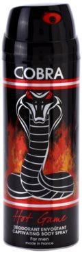 Jeanne Arthes Cobra Hot Game Deo-Spray für Herren