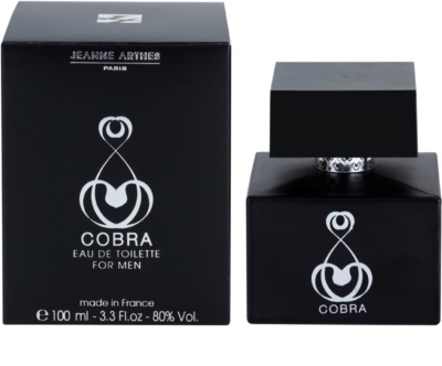 Jeanne Arthes Cobra for Him Version Inedite Eau de Toilette pentru barbati