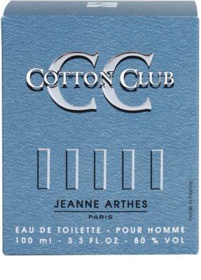 Jeanne Arthes Cotton Club eau de toilette férfiaknak 4