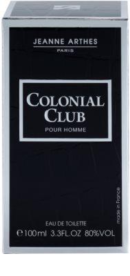 Jeanne Arthes Colonial Club Eau de Toilette für Herren 4