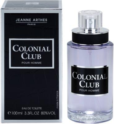 Jeanne Arthes Colonial Club eau de toilette para hombre